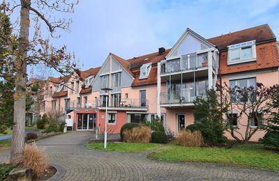 Großzügiges Besuchskonzept über die Weihnachtsfeiertage im Veitshöchheimer Caritas-Senioren-Haus St. Hedwig mit 200 Besuchsterminen