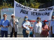Châteaubernard : grève chez le verrier VERALIA contre la restructuration et les suppressions d'emplois !