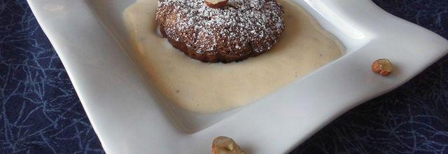 Brownies chocolat noir et noisettes caramélisées à la fleur de sel
