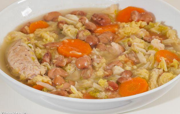 Recette soupe de choux blanc regime