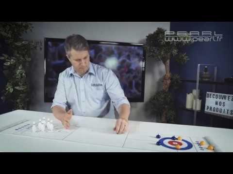 Jeu de table : curling ou jeu de quille !