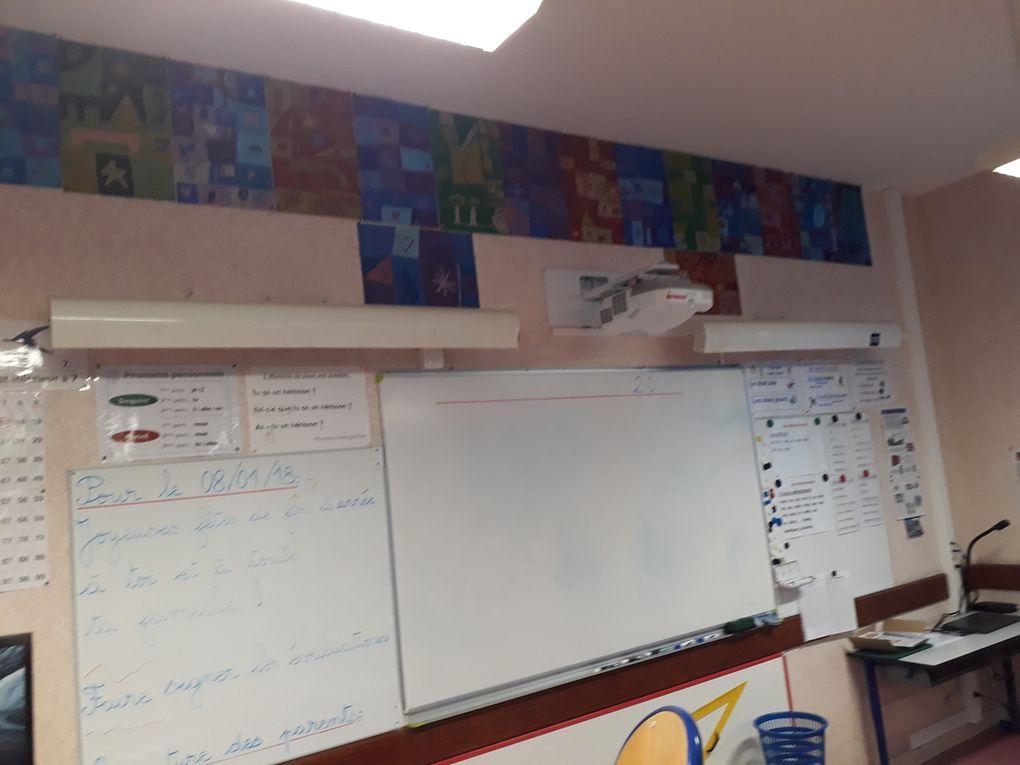 Quelques photos intérieures de notre belle école