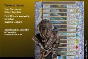 ''Echelles et colonnes'' Installation de Danièle Vogler et Lydie Noacco vernissage dimanche 15 décembre à 17 h à l'Eglise Saint Maximin de Metz