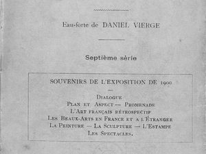 """Allusions : Gustave Geffroy """"La Vie artistique - Septième série"""" (1901)"""
