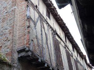 La rue Pan(n)essac dans le quartier médiéval
