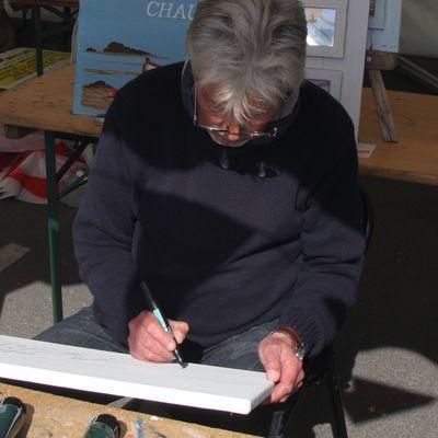 MichelGuillard Artiste peintre ,Gouville sur mer