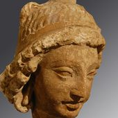 Hadda - Afghanistan - Monastère de Tapa-i-Kafariha - Sculptures - LANKAART