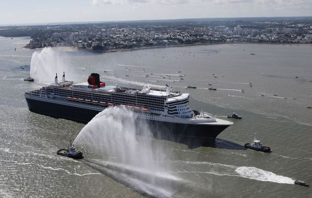 The Bridge 2017 - le Queen Mary II fêté à Saint Nazaire pour son éphémère retour