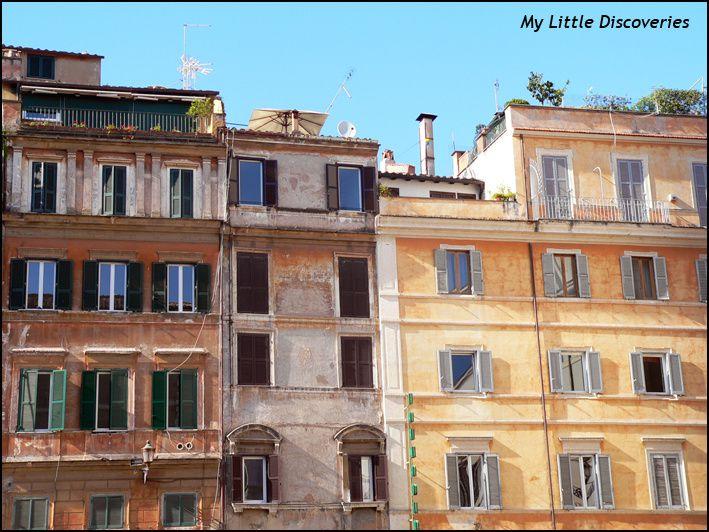 Le chouette quartier du Trastevere!