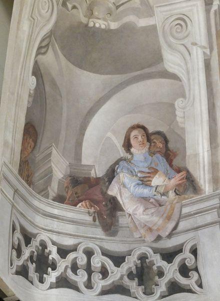 Giambattista Tiepolo - Mengozzi dit Colonna - Saverio Gandini et Pietro Scalvini