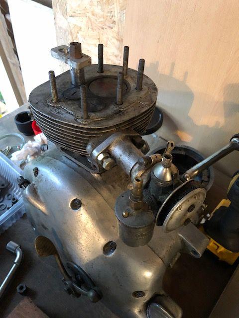 Moteur Motobécane D45s du 50