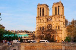 Notre Dame de Paris, quarante huit heures après...