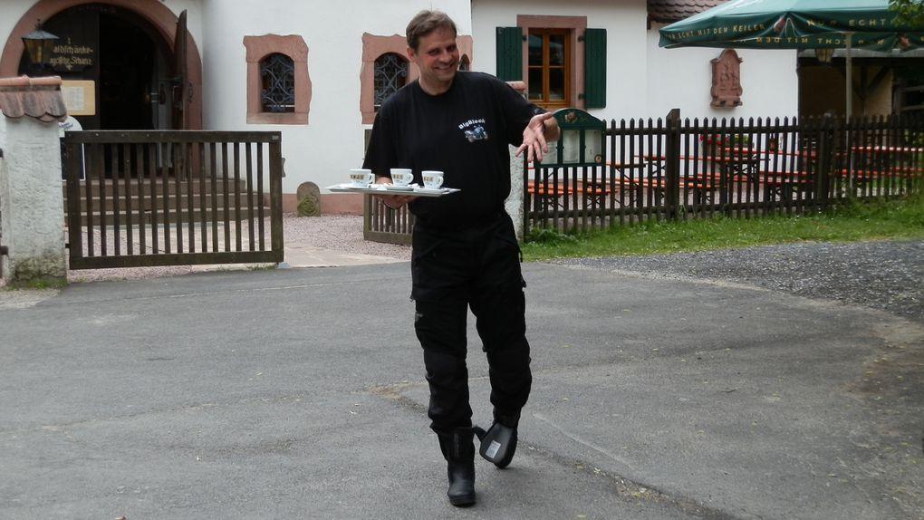 """Wann:  14.06. - 17.06.2012  Wo?  Hotel - Restaurant """"WALDHAUS"""" Waldweg 10 63875 Mespelbrunn"""
