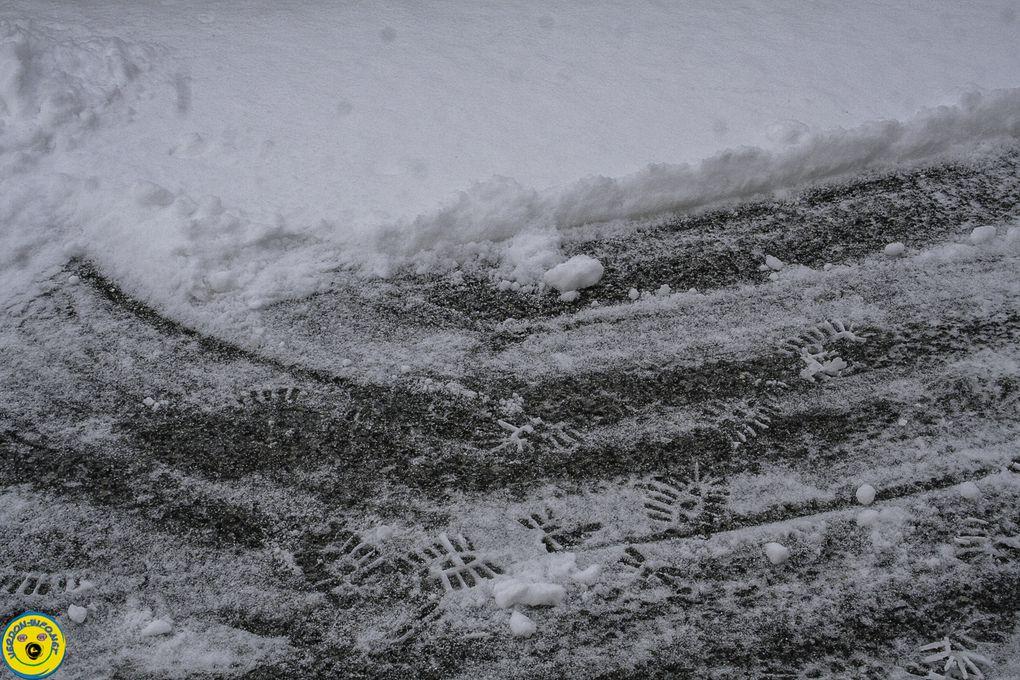 La Mure Argens  : Les premières flocons sont tombés fin janvier
