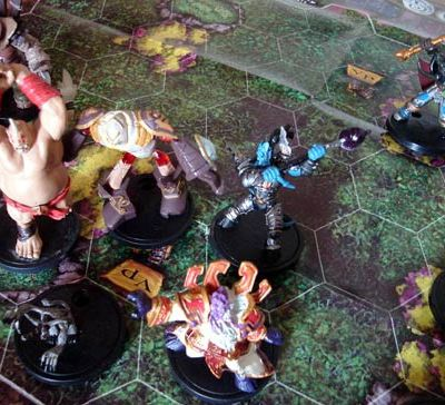 Quelques figurines WoW Minis...
