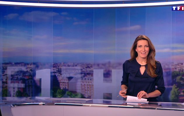 📸24 ANNE-CLAIRE COUDRAY @ACCoudray @TF1 @TF1LeJT pour LE 13H WEEK-END #vuesalatele
