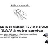 lesboudins.com un réseau de réparateurs semi-rigide PRO - Flotteur à l'identique, rénovation, sur glissière type ZODIAC / BOMBARD