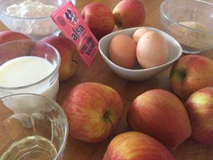 Gâteau fondant et caramélisé aux pommes