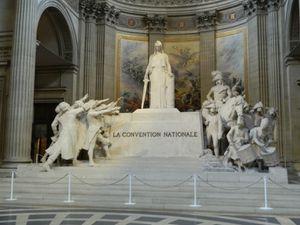 Le monument à la Convention Nationale
