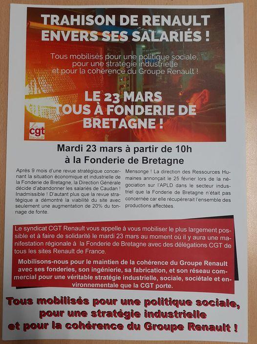 Les fonderies de Bretagne : fondeurs pas chômeurs !