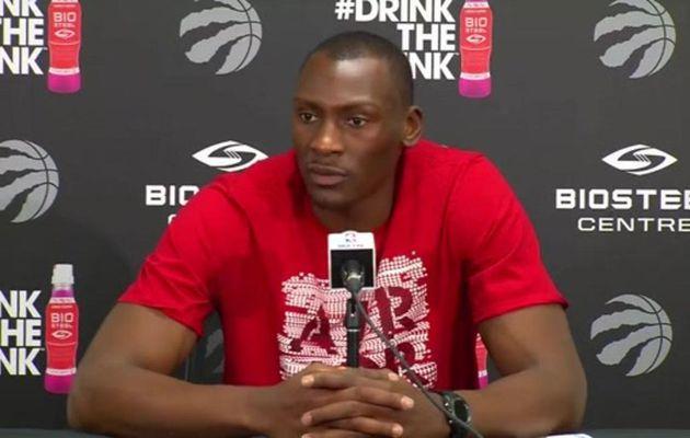 Bismack Biyombo prêt à faire des efforts financiers pour rester à Toronto