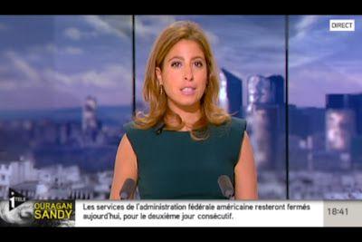 [2012 10 30] LEA SALAME - I>TELE - L'EDITION DU SOIR @18H30