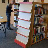 Présentoir livres - Meubles en carton - Angers