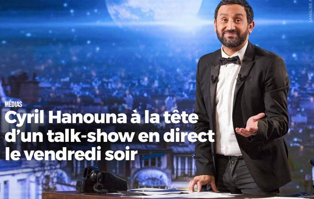 Cyril Hanouna à la tête d'un talk-show en direct le vendredi soir #C8