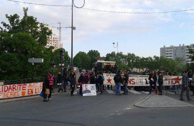[intervention policière] Blocage du pont entre l'Ile-Saint-Denis et Saint-Ouen