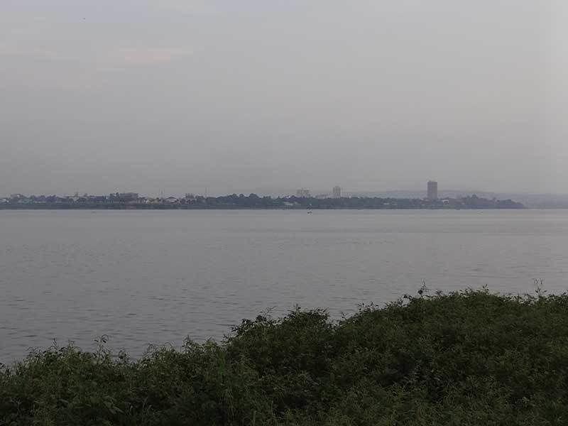 Imágenes de la cuenca del segundo río más caudaloso del mundo, el más largo de África después del Nilo, el río Congo.- El Muni.