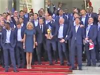 20 ans après, la France est de nouveau championne du monde de foot 2018