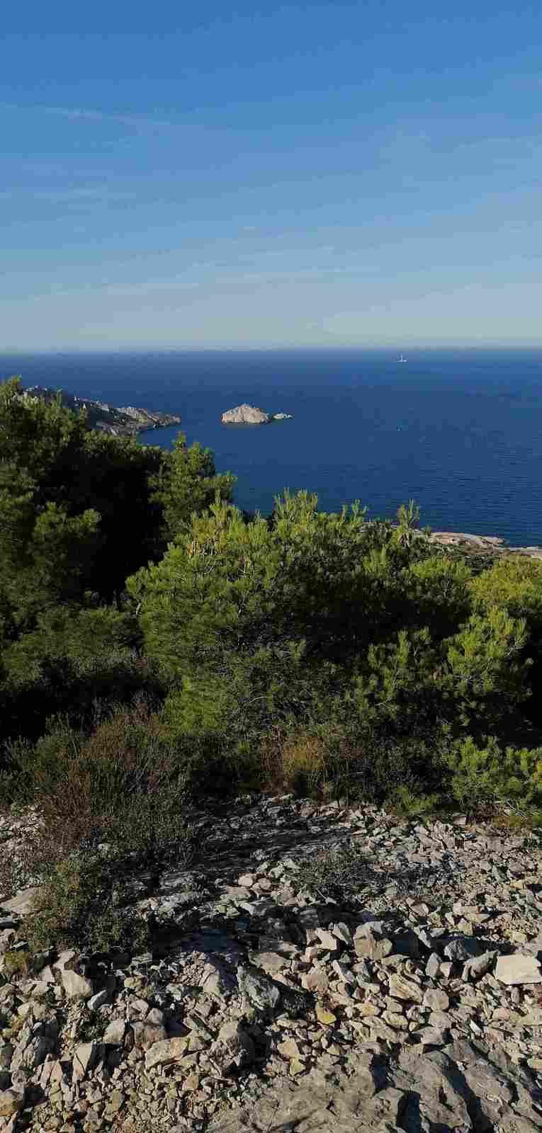 2020-10-08 Le sommet de Marseilleveyre par le col Moutte