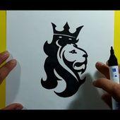 Como dibujar un leon paso a paso 6 | How to draw a lion 6