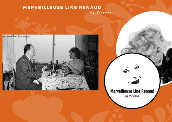 PHOTOS: Line Renaud & Loulou Gasté 1959