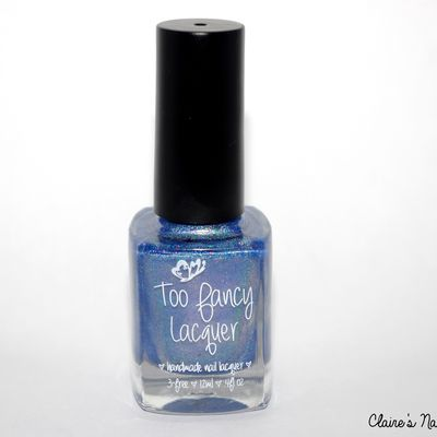 Swatch Here comes September - Too Fancy Lacquer