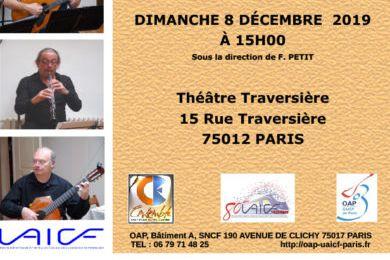 Concert du jour à Traversière