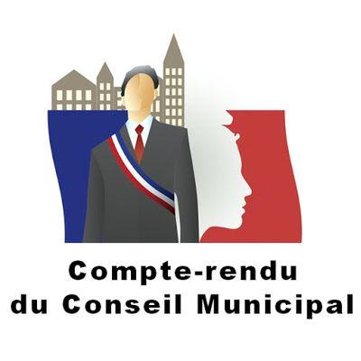Compte-rendu Conseil Municipal du 02 septembre 2020