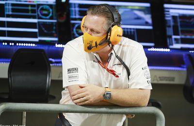 McLaren a une option sur la Formule E