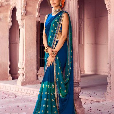 Chiffon Sarees - The Best Way to Look Best at the Party