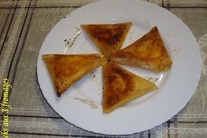 bricks aux trois fromages