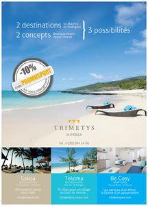 Partenariat avec TRIMETYS HÔTEL, Code promotionnel pour vos réservations