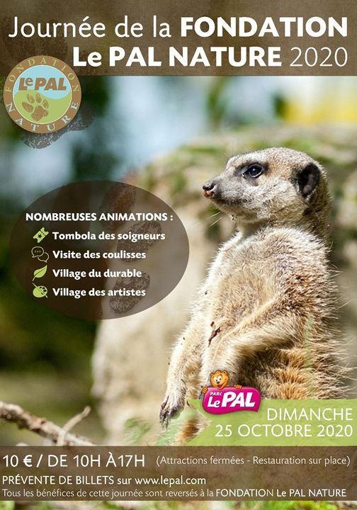 Journée de la Fondation Le Pal nature 2020