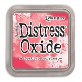 RATDO55952 : ENCRE DISTRESS OXIDE FESTIVE BERRIES FEE DU SCRAP