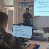 Des élèves de Coëtquidan en renfort des délégations militaires départementales