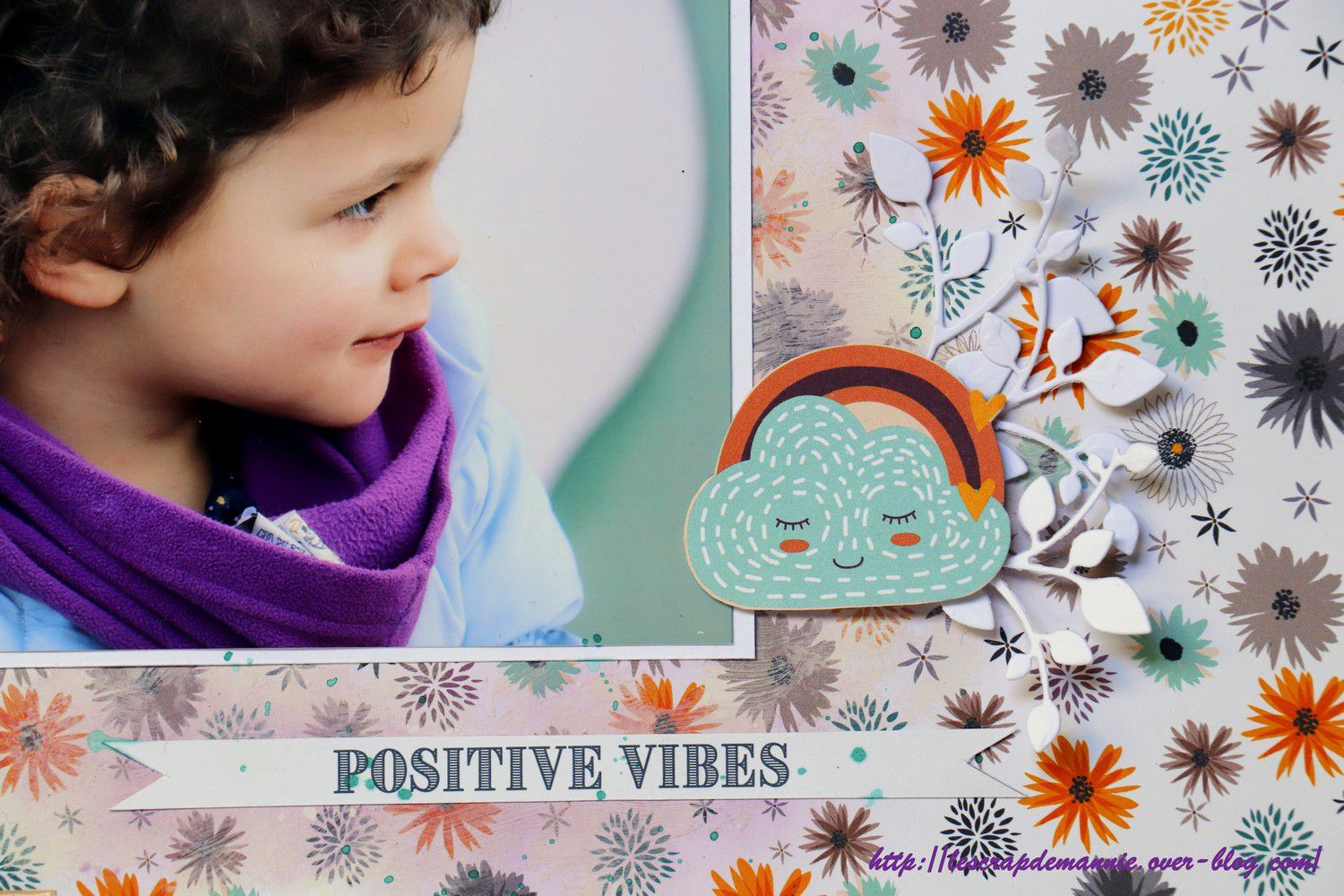 Positive vibes / lift de page pour  le Coffee Scrap