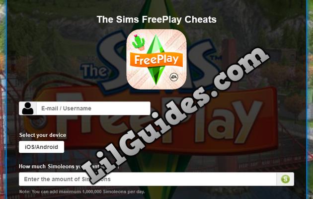 The Sims FreePlay Simoleons Generator - Hack and Cheats [NEW]