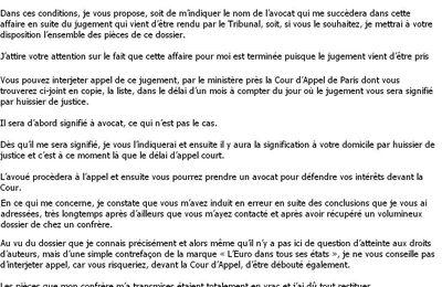 De Jean-Michel QUILLARDET, 21 MARS 07