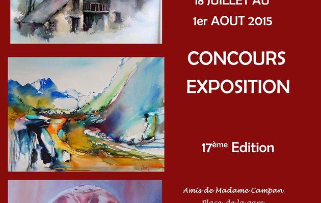 17eme concours et expo à Ste Marie de Campan (65)