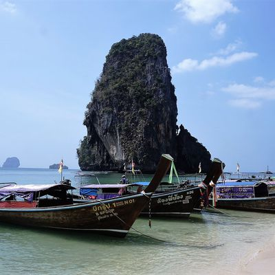 Thaïlande : L'eau turquoise, le sable blanc...