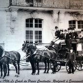 Description des écuries de luxe de la fin du XIX° siècle.3/Fin - attelage-patrimoine
